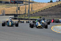 Group 4 - Open Wheel Cars – 1600cc Twin Cam or less at the 2018 SVRA Sonoma Historic Motorsports Festival run at Sonoma Raceway