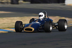 Chris Rose - 1969 Brabham BT29 in Group 4 - Open Wheel Cars – 1600cc Twin Cam or less at the 2018 SVRA Sonoma Historic Motorsports Festival run at Sonoma Raceway