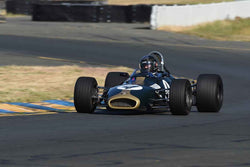 Edward Lauber - 1969 Titan MK 5 FF in Group 4 - Open Wheel Cars – 1600cc Twin Cam or less at the 2018 SVRA Sonoma Historic Motorsports Festival run at Sonoma Raceway