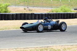 Charles McCabe - 1961 BRM P57 in Group 4 - Open Wheel Cars – 1600cc Twin Cam or less at the 2018 SVRA Sonoma Historic Motorsports Festival run at Sonoma Raceway
