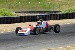 Charles Daniels - 1973 Crossle 25F in Group 4 - Open Wheel Cars – 1600cc Twin Cam or less at the 2018 SVRA Sonoma Historic Motorsports Festival run at Sonoma Raceway