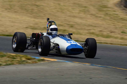 Tom Schnurbusch - 1967 Brabham BT-21 B in Group 4 - Open Wheel Cars – 1600cc Twin Cam or less at the 2018 SVRA Sonoma Historic Motorsports Festival run at Sonoma Raceway