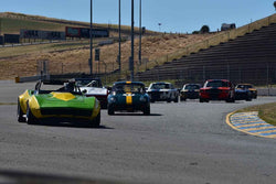Group 6 - 1956-72 Production & GT Cars over 2000cc at the 2018 SVRA Sonoma Historic Motorsports Festival run at Sonoma Raceway