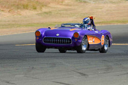 Chandler Briscoe - 1957 Chevrolet Corvette in Group 6 - 1956-72 Production & GT Cars over 2000cc at the 2018 SVRA Sonoma Historic Motorsports Festival run at Sonoma Raceway