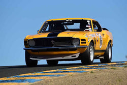 Walter Brown - 1969 Ford Mustang in Group 6 - 1956-72 Production & GT Cars over 2000cc at the 2018 SVRA Sonoma Historic Motorsports Festival run at Sonoma Raceway
