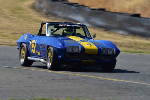 Bruce Miller - 1963 Chevrolet Corvette in Group 6 - 1956-72 Production & GT Cars over 2000cc at the 2018 SVRA Sonoma Historic Motorsports Festival run at Sonoma Raceway