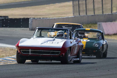 Chris Springer - 1965 Chevrolet Corvette in Group 6 - 1956-72 Production & GT Cars over 2000cc at the 2018 SVRA Sonoma Historic Motorsports Festival run at Sonoma Raceway