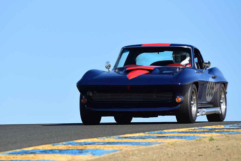Damian Friary - 1966 Chevrolet Corvette in Group 6 - 1956-72 Production & GT Cars over 2000cc at the 2018 SVRA Sonoma Historic Motorsports Festival run at Sonoma Raceway