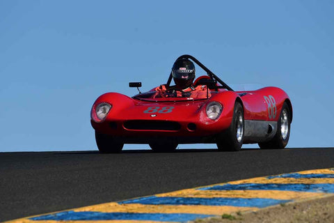 Tom Claridge - 1965 Crossle C9S in Group 7 - 1959-65 Sports Racing & 1964-70 FIA Cars at the 2018 SVRA Sonoma Historic Motorsports Festival run at Sonoma Raceway