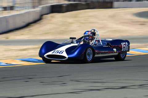 John (Chip) Fudge - 1963 Genie Mark VII in Group 7 - 1959-65 Sports Racing & 1964-70 FIA Cars at the 2018 SVRA Sonoma Historic Motorsports Festival run at Sonoma Raceway