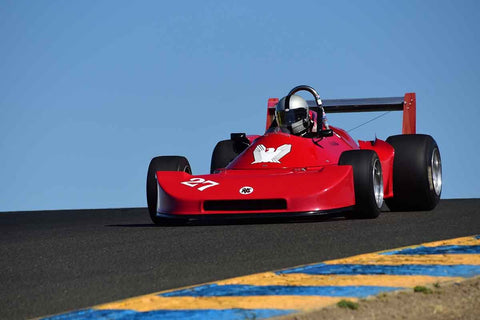 Alex MacAllister - 1977 Ralt RT1 in Group 8 - Open Wheel Cars – greater than 1600cc Twin Cam  at the 2018 SVRA Sonoma Historic Motorsports Festival run at Sonoma Raceway