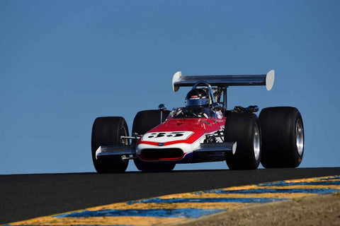 Johnnie Crean - 1969 Eagle F5000 in Group 8 - Open Wheel Cars – greater than 1600cc Twin Cam  at the 2018 SVRA Sonoma Historic Motorsports Festival run at Sonoma Raceway