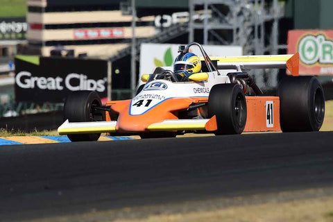 Nick Gojmeric - 1980 March 802 in Group 8 - Open Wheel Cars – greater than 1600cc Twin Cam  at the 2018 SVRA Sonoma Historic Motorsports Festival run at Sonoma Raceway