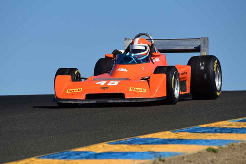 Ed Swart - 1978 Chevron B45 in Group 8 - Open Wheel Cars – greater than 1600cc Twin Cam  at the 2018 SVRA Sonoma Historic Motorsports Festival run at Sonoma Raceway
