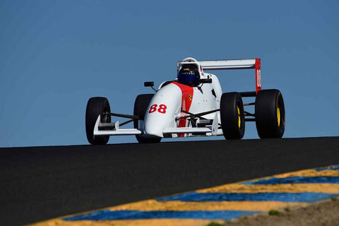 Jim Edmonds - 1994 Van Diemen RF94 in Group 8 - Open Wheel Cars – greater than 1600cc Twin Cam  at the 2018 SVRA Sonoma Historic Motorsports Festival run at Sonoma Raceway