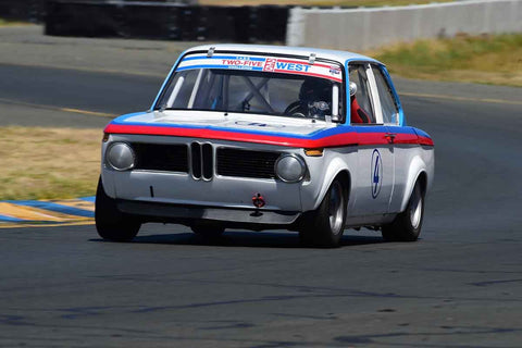 Nicholas Talbot -  BMW 2002 in Group 9 - 1956-72 Production & GT Cars under 2000cc at the 2018 SVRA Sonoma Historic Motorsports Festival run at Sonoma Raceway