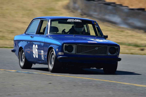 James Franzone - 1972 Volvo 142E in Group 9 - 1956-72 Production & GT Cars under 2000cc at the 2018 SVRA Sonoma Historic Motorsports Festival run at Sonoma Raceway