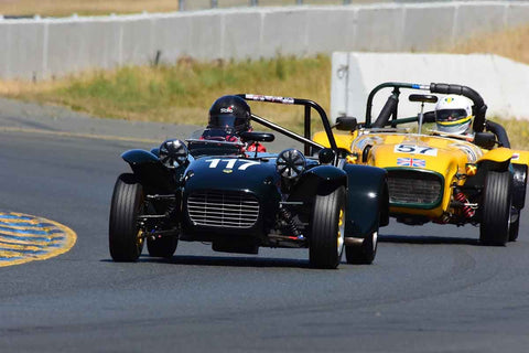 Robert Davis - 1965 Lotus Super 7 in Group 9 - 1956-72 Production & GT Cars under 2000cc at the 2018 SVRA Sonoma Historic Motorsports Festival run at Sonoma Raceway