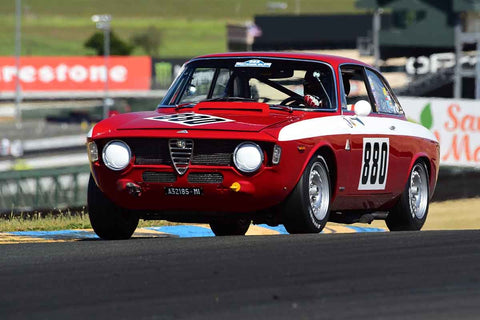 Rick Jeffery - 1966 Alfa Romeo GTA in Group 9 - 1956-72 Production & GT Cars under 2000cc at the 2018 SVRA Sonoma Historic Motorsports Festival run at Sonoma Raceway