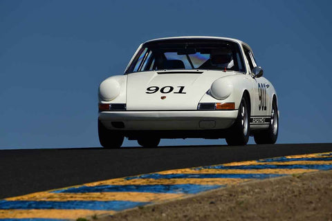 C. Patrick Costin - 1967 Porsche 911S in Group 9 - 1956-72 Production & GT Cars under 2000cc at the 2018 SVRA Sonoma Historic Motorsports Festival run at Sonoma Raceway