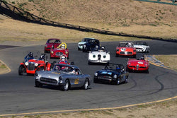 Group 1 Sports and GT Cars as raced prior to 1963 & Formula Vee at the 2019 CSRG Charity Challenge run at Sears Point Raceway