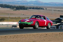 Marnix Dillenius - 1964 Alfa Romeo TZ in Group 1 Sports and GT Cars as raced prior to 1963 & Formula Vee at the 2019 CSRG Charity Challenge run at Sears Point Raceway