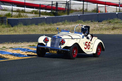 Bill Angeloni - 1955 MG TF 1500 in Group 1 Sports and GT Cars as raced prior to 1963 & Formula Vee at the 2019 CSRG Charity Challenge run at Sears Point Raceway