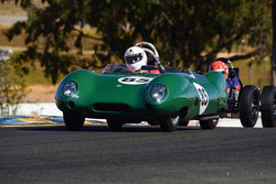 Stewart Smith - 1957 Lotus Eleven Club in Group 1 Sports and GT Cars as raced prior to 1963 & Formula Vee at the 2019 CSRG Charity Challenge run at Sears Point Raceway