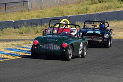 Gary Black - 1960 Austin-Healey 3000 in Group 1 Sports and GT Cars as raced prior to 1963 & Formula Vee at the 2019 CSRG Charity Challenge run at Sears Point Raceway