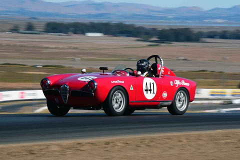 David Buchanan - 1956 Alfa Romeo SPIDER in Group 1 Sports and GT Cars as raced prior to 1963 & Formula Vee at the 2019 CSRG Charity Challenge run at Sears Point Raceway