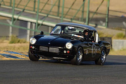 Paul Quackenbush - 1962 Triumph Spitfire in Group 2 Small Displacement Production Sports Cars through 1972 at the 2019 CSRG Charity Challenge run at Sears Point Raceway