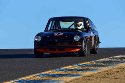 G Michael Hayworth - 1966 MG BGT in Group 2 Small Displacement Production Sports Cars through 1972 at the 2019 CSRG Charity Challenge run at Sears Point Raceway