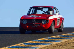 Alan Frick - 1966 Alfa Romeo GTA in Group 2 Small Displacement Production Sports Cars through 1972 at the 2019 CSRG Charity Challenge run at Sears Point Raceway