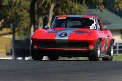 Daniel Haney - 1963 Chevrolet Corvette in Group 3 Large Displacement Production Sports Cars through 1972 at the 2019 CSRG Charity Challenge run at Sears Point Raceway