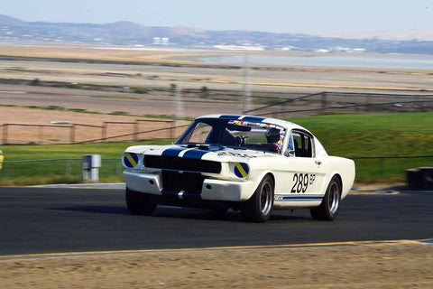 Tom Fry - 1966 Ford GT350 in Group 3 Large Displacement Production Sports Cars through 1972 at the 2019 CSRG Charity Challenge run at Sears Point Raceway