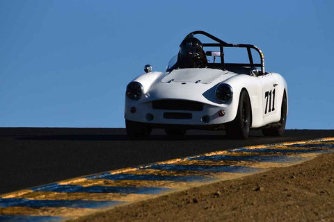 DH Daugs - 1962 Turner Mk II in Group 3 Large Displacement Production Sports Cars through 1972 at the 2019 CSRG Charity Challenge run at Sears Point Raceway