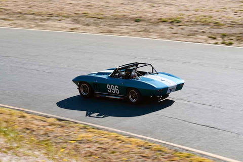 Edward Hugo - 1966 Chevrolet Corvette in Group 3 Large Displacement Production Sports Cars through 1972 at the 2019 CSRG Charity Challenge run at Sears Point Raceway