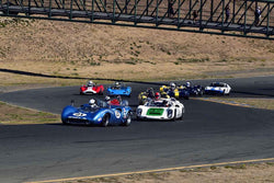 Group 4 USRRC Under & Over 2.0L Sports Racers through 1967 at the 2019 CSRG Charity Challenge run at Sears Point Raceway