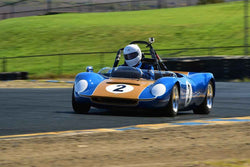 Dennis Losher - 1965 Beach MK4-B Series II in Group 4 USRRC Under & Over 2.0L Sports Racers through 1967 at the 2019 CSRG Charity Challenge run at Sears Point Raceway