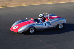 Troy Tinsley - 1965 Bobsy SR3 in Group 4 USRRC Under & Over 2.0L Sports Racers through 1967 at the 2019 CSRG Charity Challenge run at Sears Point Raceway