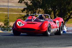 Mac McGarry - 1965 Genie MK 10 in Group 4 USRRC Under & Over 2.0L Sports Racers through 1967 at the 2019 CSRG Charity Challenge run at Sears Point Raceway