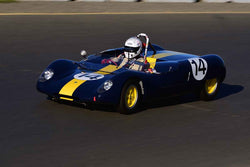 Robert S. Davis - 1963 Lotus 23 in Group 4 USRRC Under & Over 2.0L Sports Racers through 1967 at the 2019 CSRG Charity Challenge run at Sears Point Raceway