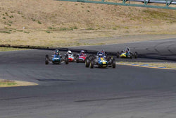 Group 5 Formula Junior & Formula B Cars at the 2019 CSRG Charity Challenge run at Sears Point Raceway