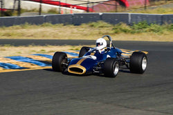 Chris Rose - 1969 Brabham BT 29 FB in Group 5 Formula Junior & Formula B Cars at the 2019 CSRG Charity Challenge run at Sears Point Raceway