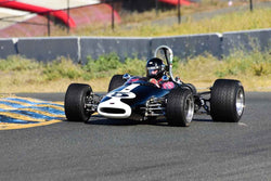 Steve Davis - 1965 Brabham BT16/21 in Group 5 Formula Junior & Formula B Cars at the 2019 CSRG Charity Challenge run at Sears Point Raceway