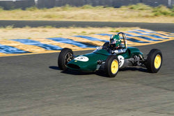 Alberto Fernandez Jr - 1963 Lotus Junior 27 in Group 5 Formula Junior & Formula B Cars at the 2019 CSRG Charity Challenge run at Sears Point Raceway