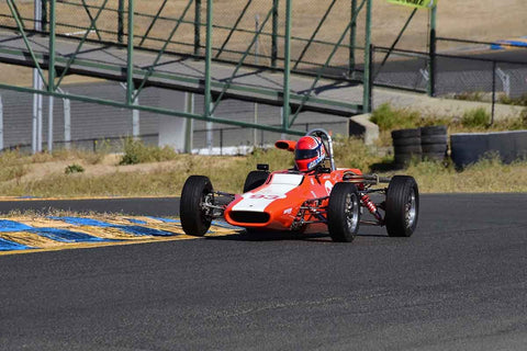 "Geir Ramleth - 1970 Titan Mk 6 in Group 6 Formula Ford ""Crossflow Cup"" at the 2019 CSRG Charity Challenge run at Sears Point Raceway"