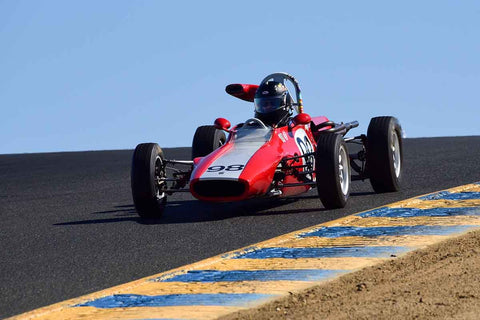 "Robert Thull - 1972 Titan Titan Formula Ford in Group 6 Formula Ford ""Crossflow Cup"" at the 2019 CSRG Charity Challenge run at Sears Point Raceway"