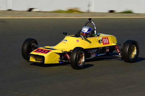 "Russ Werner - 1981 Van Diemen RF81/80 in Group 6 Formula Ford ""Crossflow Cup"" at the 2019 CSRG Charity Challenge run at Sears Point Raceway"