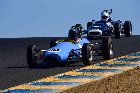 "Edward Lauber - 1969 Titan Mk 5 FF in Group 6 Formula Ford ""Crossflow Cup"" at the 2019 CSRG Charity Challenge run at Sears Point Raceway"